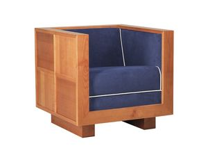 Scacchi 3870, Armchair with cubic structure