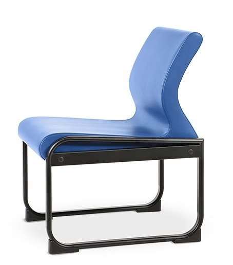 ONE 401 S, Chair with metal base, easy to clean