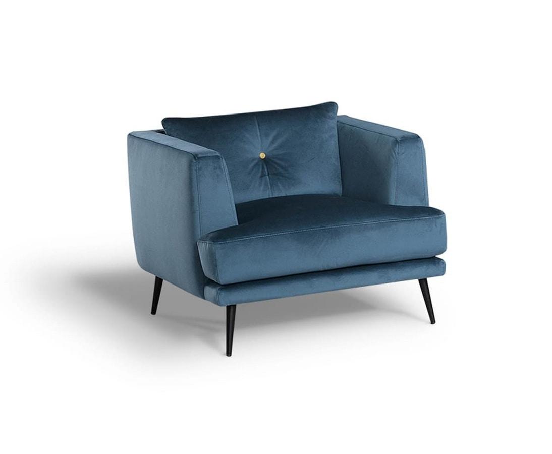 Sophia, Vintage Nordic style armchair