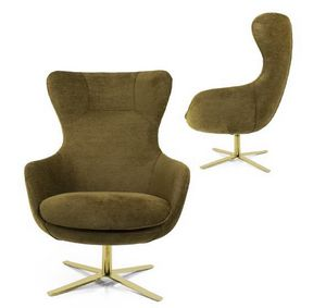 Taylor, Armchair with high backrest