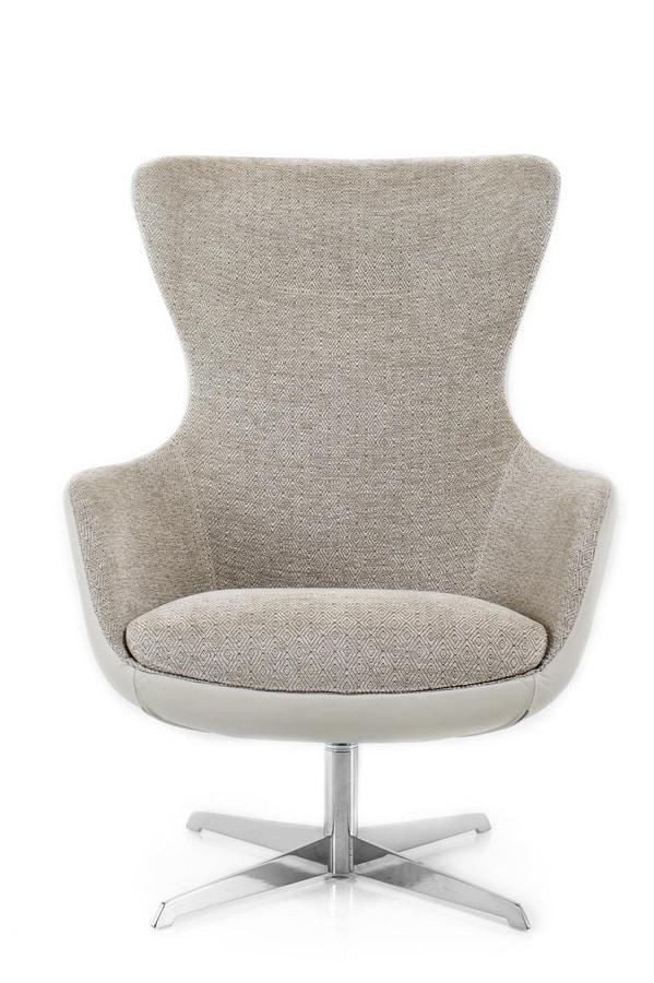 Taylor, Armchair with high backrest