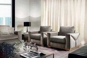 Tivoli armchair, Contemporary design armchair