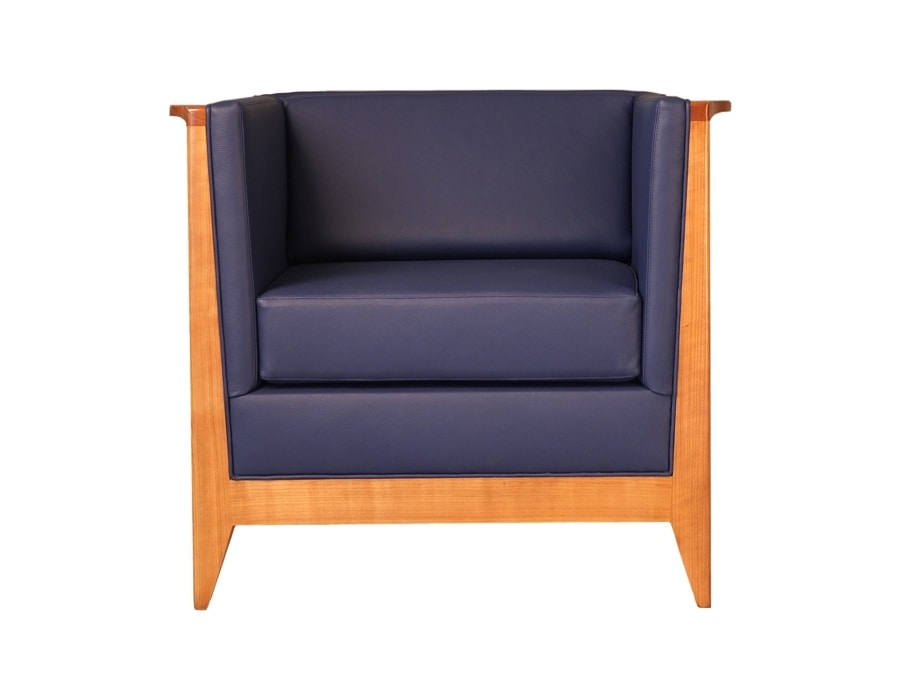 Torino 3894, Armchair with essential design