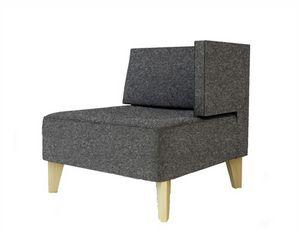 Urban 836 1BL 1BR, Modular armchair for waiting areas