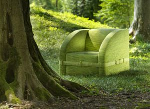 Vague, Relax armchair with fresh and compact lines