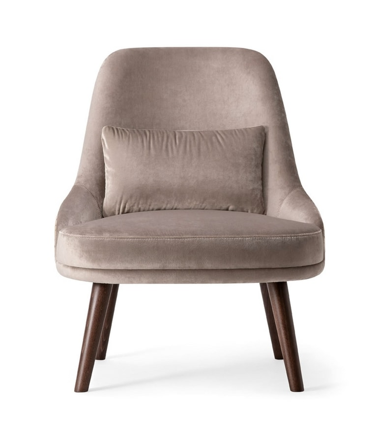 ZOE LOUNGE CHAIR 069 P, Comfortable armchair