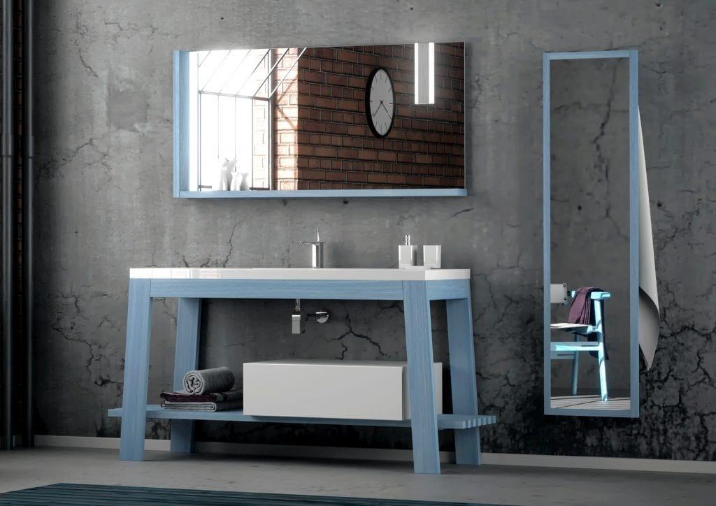 Bath Table 09, Bathroom furniture, with a minimal design