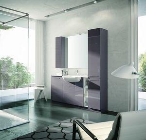 BLUES BL-03, Modern bathroom cabinet
