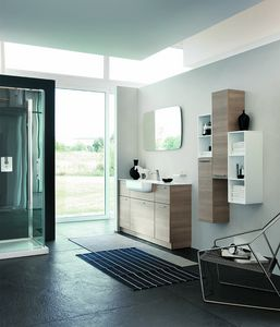 BLUES BL-06, Furniture composition for a modern bathroom