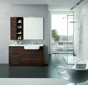 BLUES BL-07, Complete modern bathroom furniture