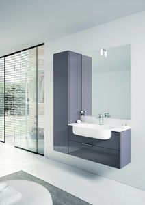 BLUES BL-08, Bathroom cabinet with column