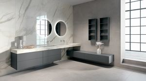 BLUES BL2.04, Complete furniture for bathroom with double sink