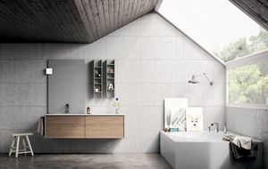 Dress 2.0 comp.09, Bathroom furniture composition in modern style