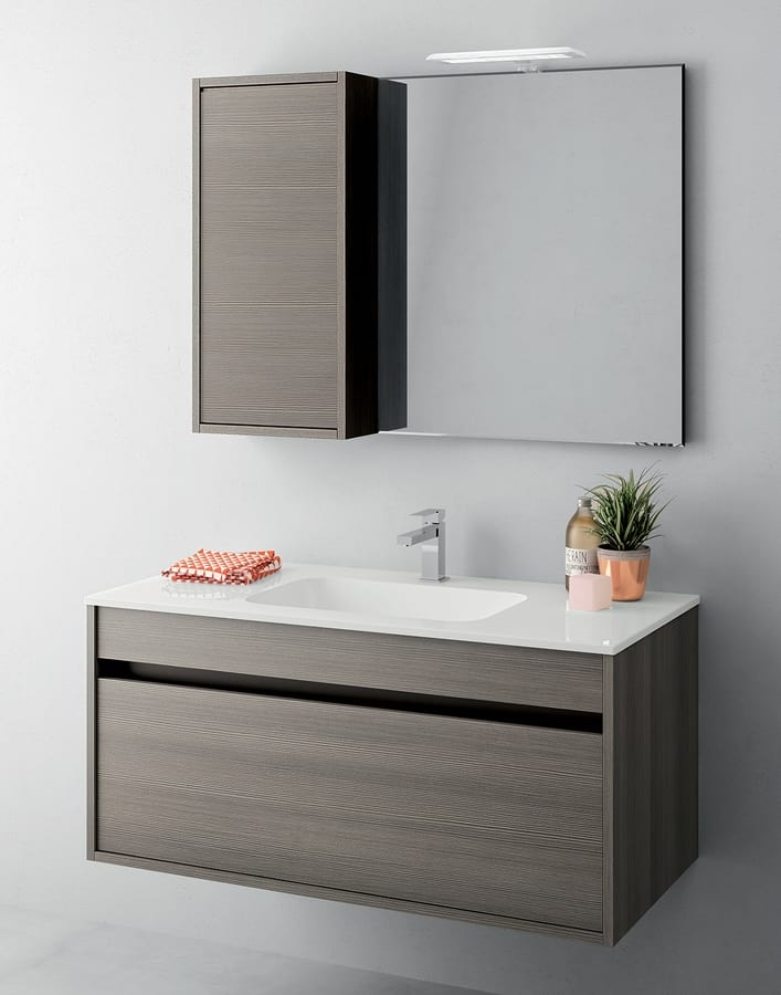 E Saving Bathroom Cabinet With