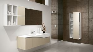 FLY 03, Furniture solution for a modern bathroom
