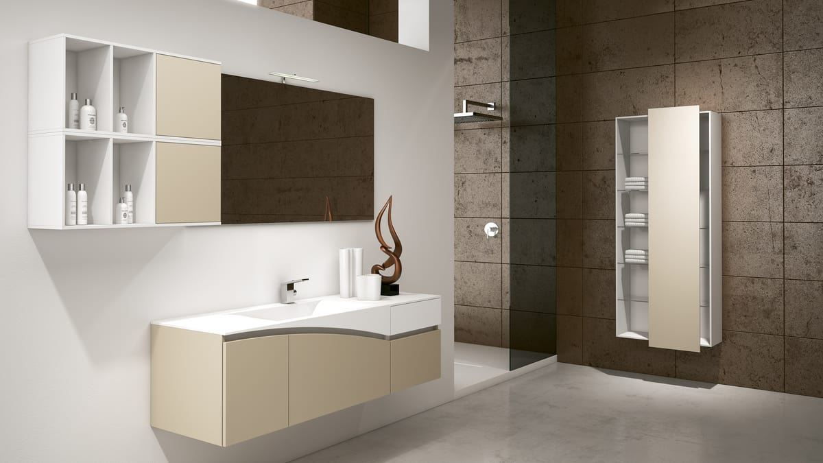 Furniture Solution For A Modern Bathroom Idfdesign