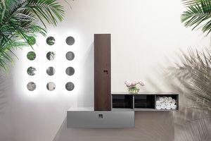 Kube 04, Hanging elements for bathroom
