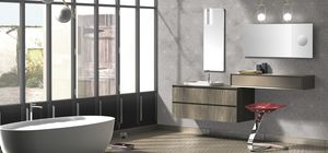 Torana TR 015, Bathroom cabinet with two mirrors
