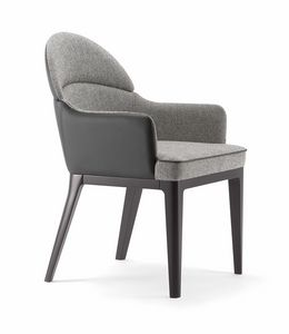 ASTON ARMCHAIR 062 PO, Small armchair with rounded back