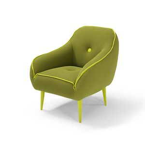 Bebop, Armchair with stretching fabric