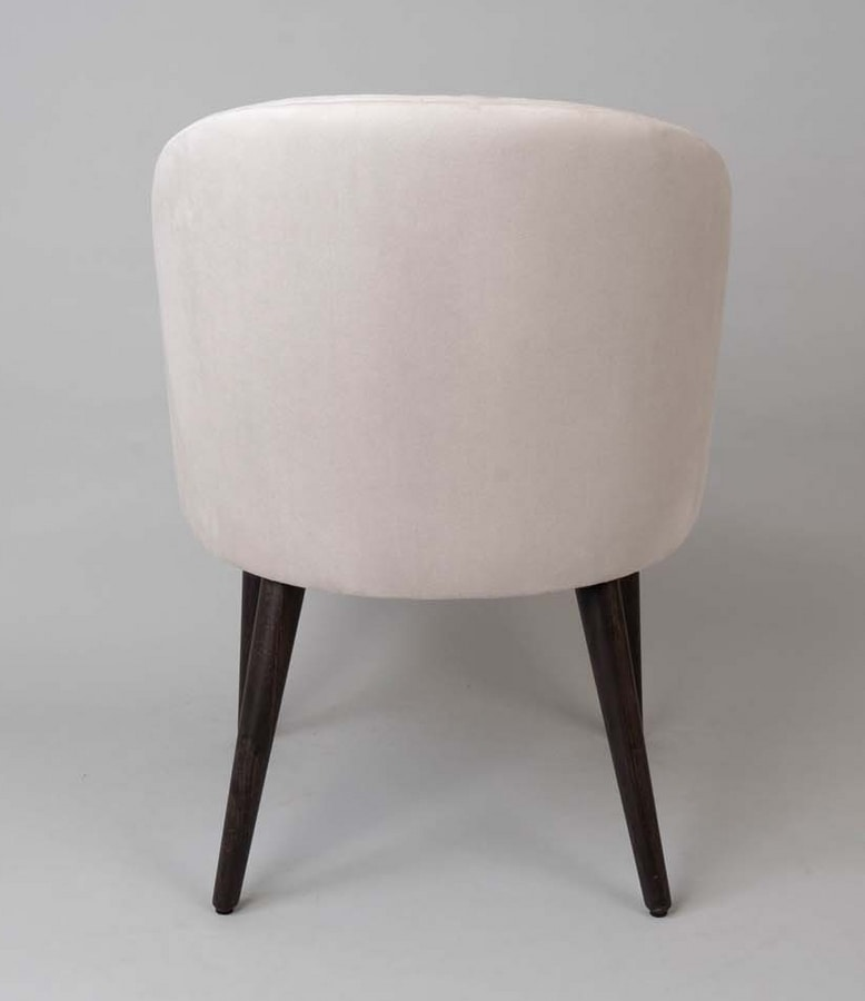 BS468A - Armchair, Upholstered armchair with fabric covering