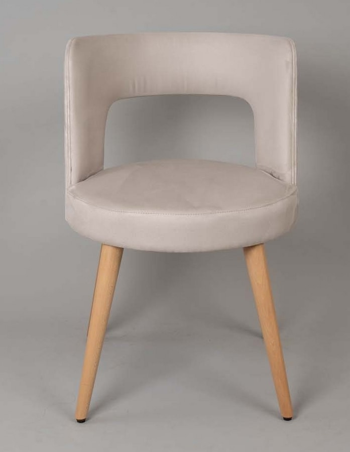 BS469A - Armchair, Armchair with upholstered seat