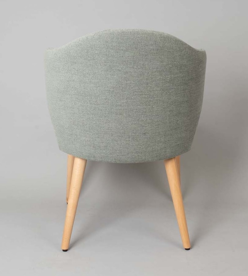 BS478A – Poltrona, Upholstered armchair with upholstered back