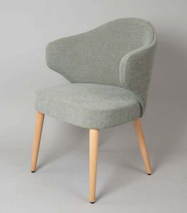 BS478A � Poltrona, Upholstered armchair with upholstered back