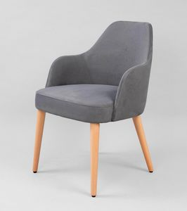 BS479A - Armchair, Armchair covered in fabric