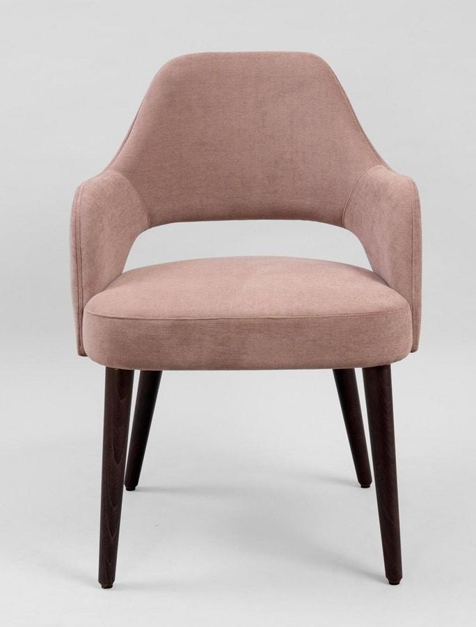 BS480A - Armchair, Upholstered armchair