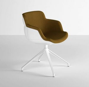 Choppy Sleek U, Armchair with large seat