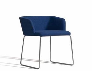 Concord 521BV, Modern armchair with sled base