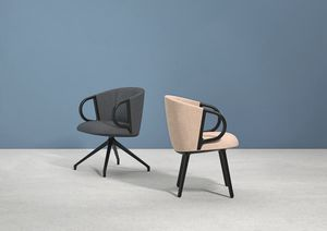 Cucaracha Slim, Upholstered armchair with oscillating mechanism