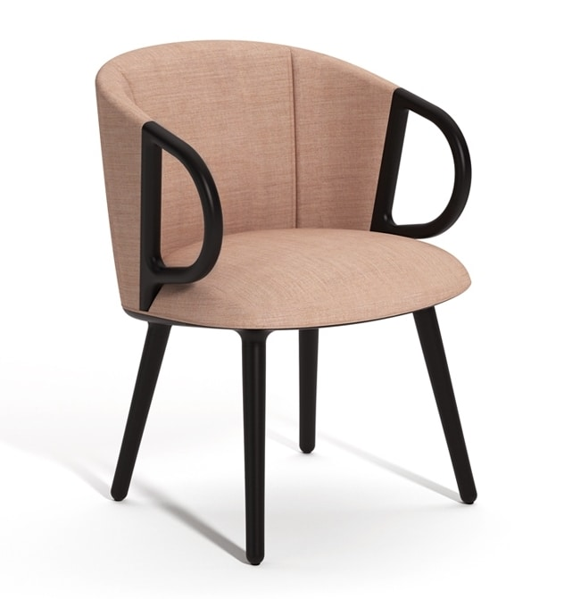 Cucaracha Slim, Upholstered armchair with oscillating mechanism