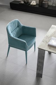 DALLAS PT616, Armchair upholstered in microfiber