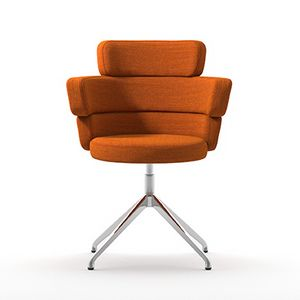 Dam XL SP, Swivel armchair with high back