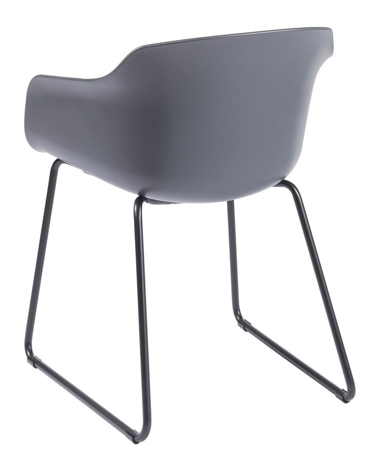 Dame ST, Chair with sled base