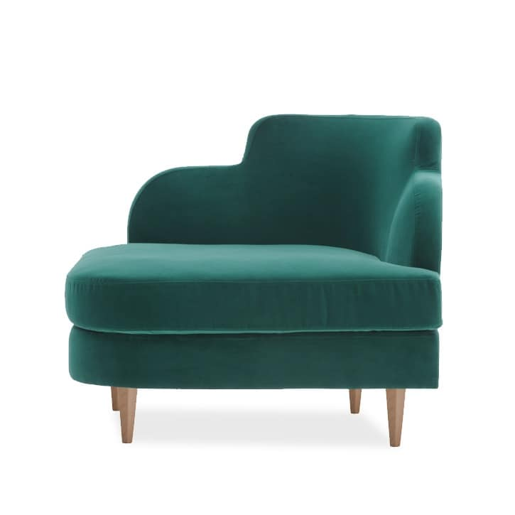 Délice 01051, Upholstered angular armchair