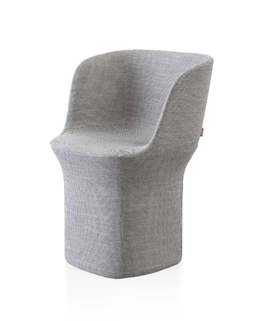 Esse poltrona, Fully upholstered armchair, padded with polyurethane foam