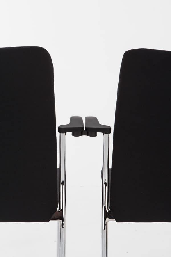 Evosa 08/2A, Metal armchair for bar, modern chair for home