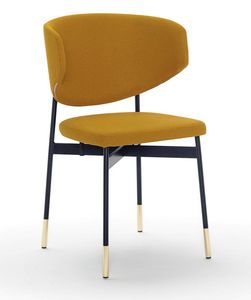 Foulard PT, Armchair with metal base