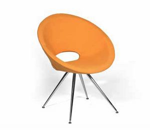 JAVEA, Modern armchair in foam polyurethane