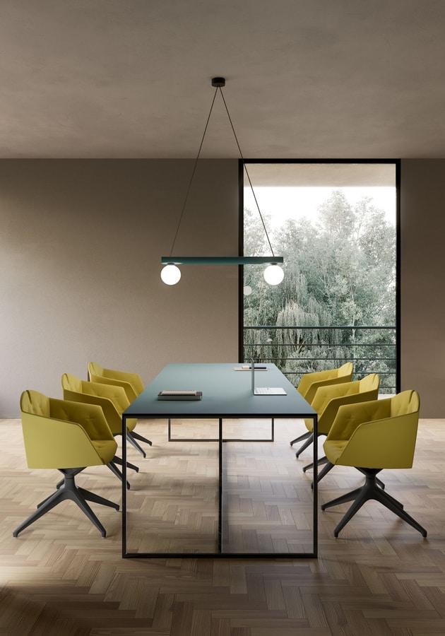 Kuad Plus, Armchair with flexible backrest