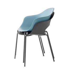 Lady, Chair with technopolymer shell