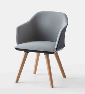 Manaa BL, Office armchair with beech legs