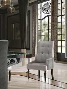 PALAIS-ROYAL Armchair, Luxury armchair with high back