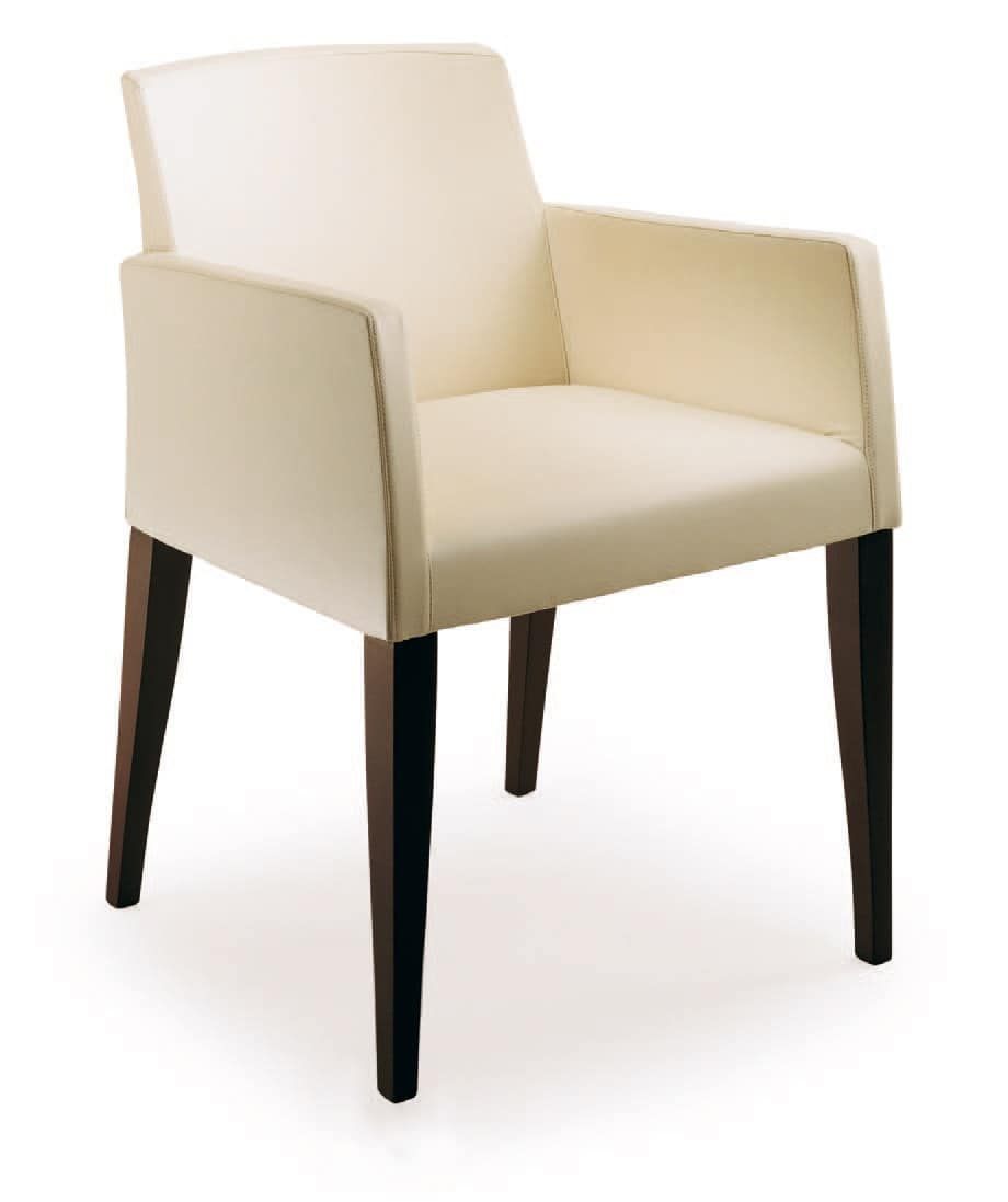 PL 5006, Upholstered armchair in polyurethane, in various colors