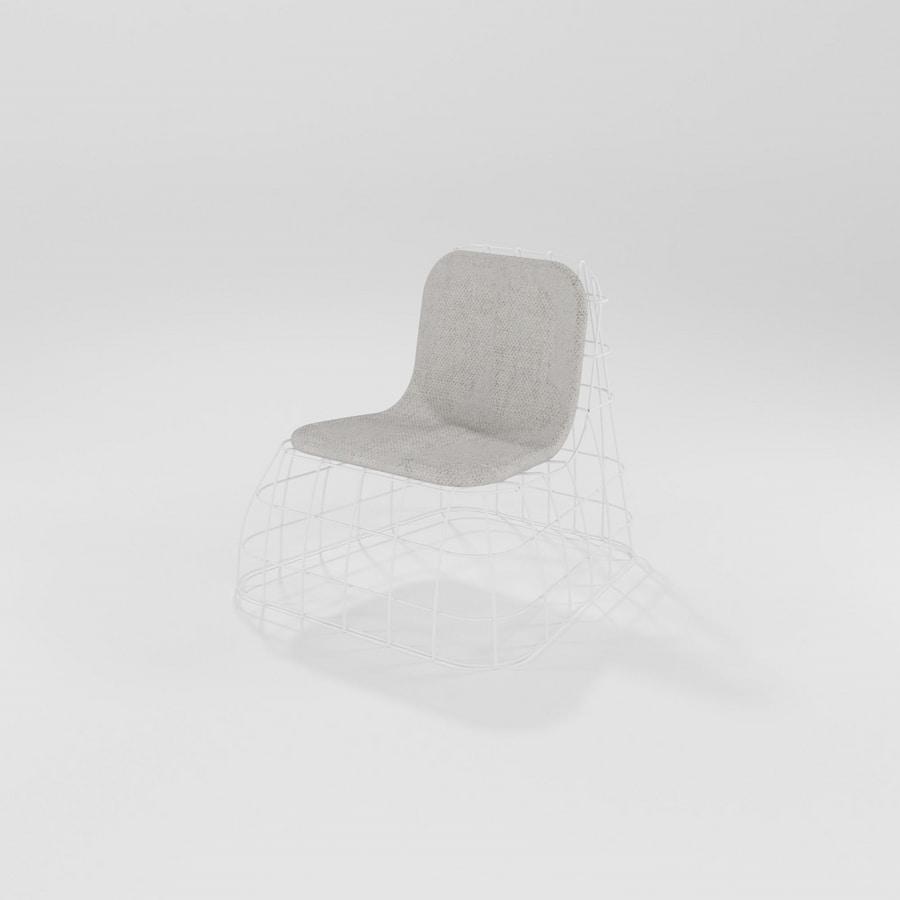 Poltroncina, Outdoor iron armchair