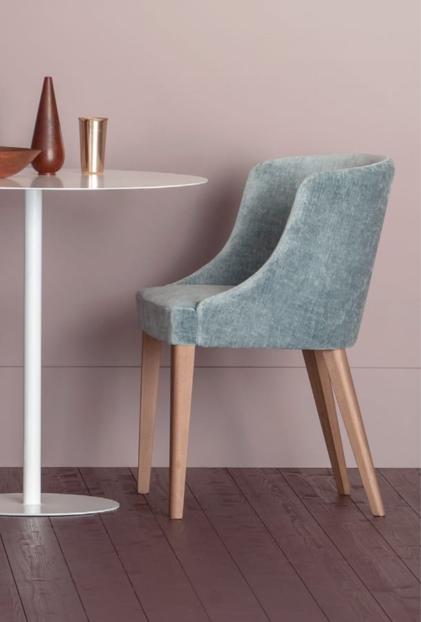 POLTRONCINA WOW, Armchair for home or contract