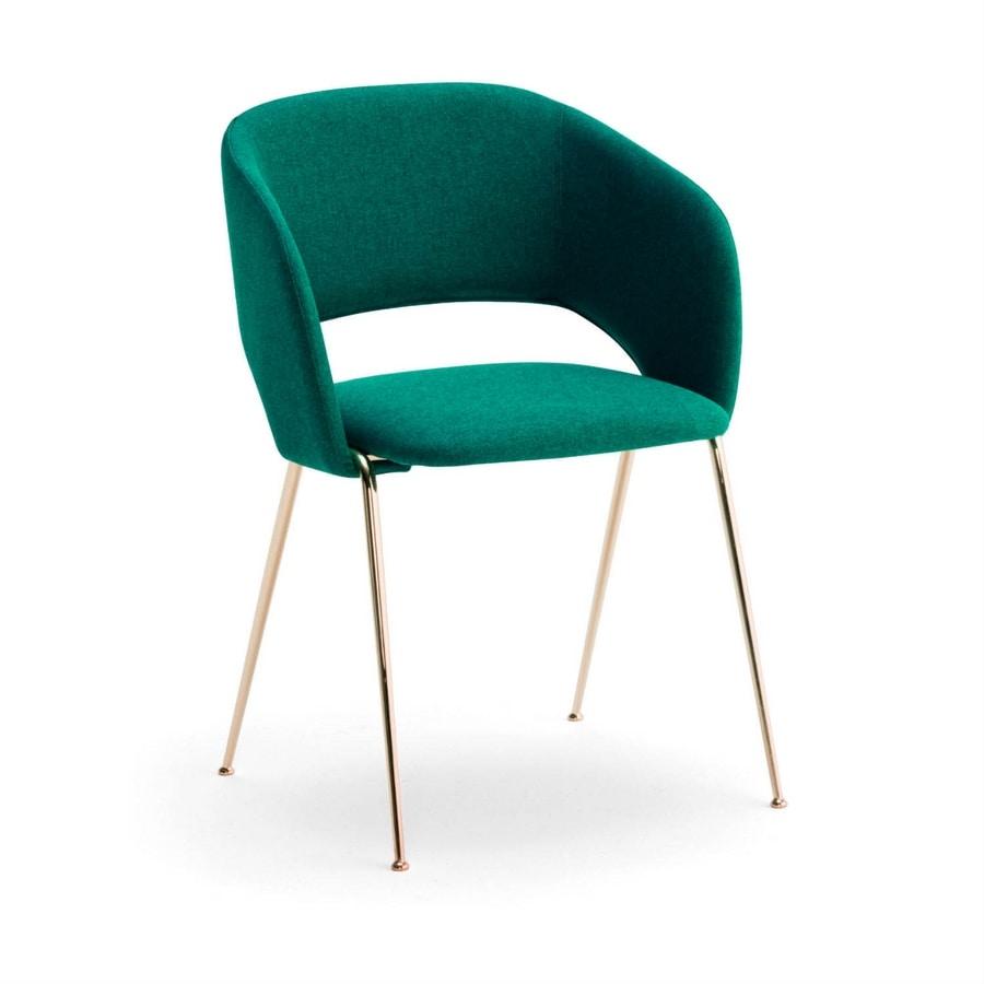 Rainbow PT, Modern upholstered armchair